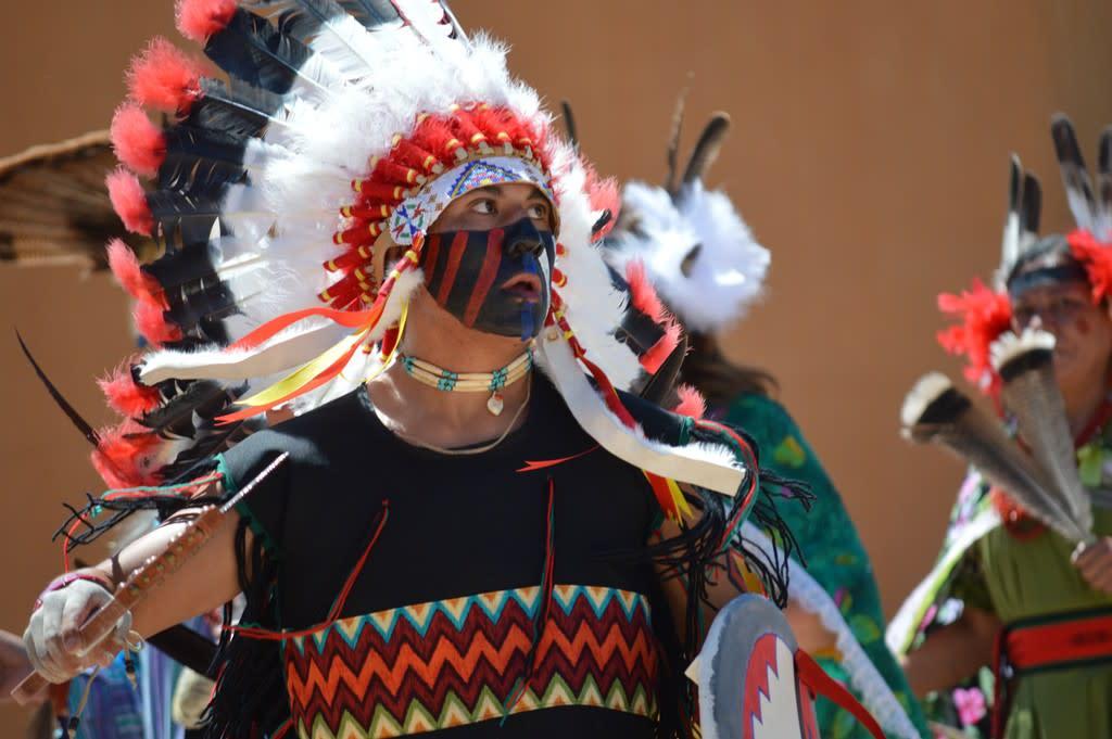 Comanche Dance, Pojoaque Pueblo