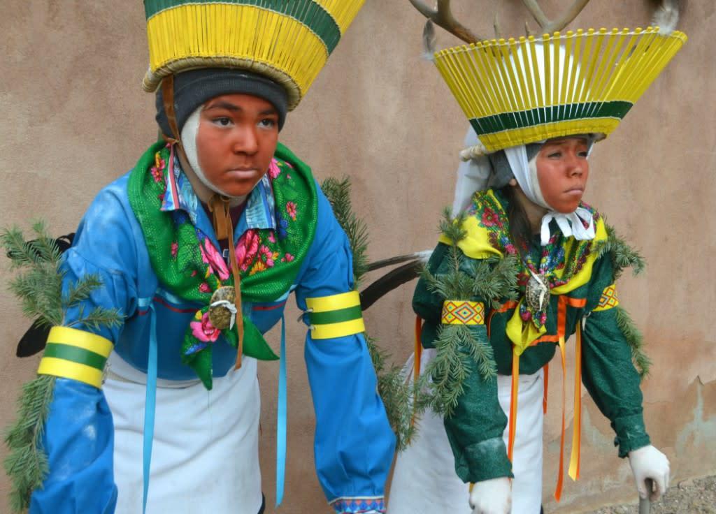 Deer Dancers, Ohkay Owingeh
