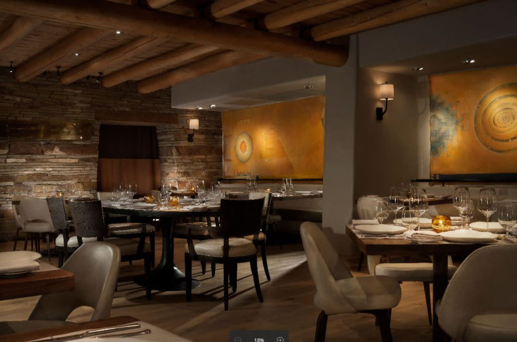 Dinner on New Year's Eve in Santa Fe? But of course! (Photo courtesy of Anasazi Restaurant)