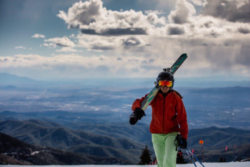 The views from the Santa Fe Ski basin are breathtaking. (Photo courtesy of Ski Santa Fe)