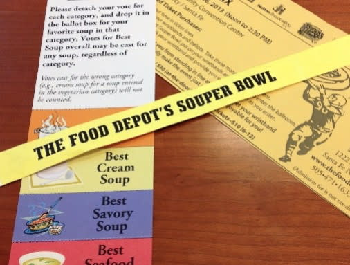By attending the Souper Bowl, you'll be able to vote for your favorite soup. (Photo courtesy of The Food Depot)