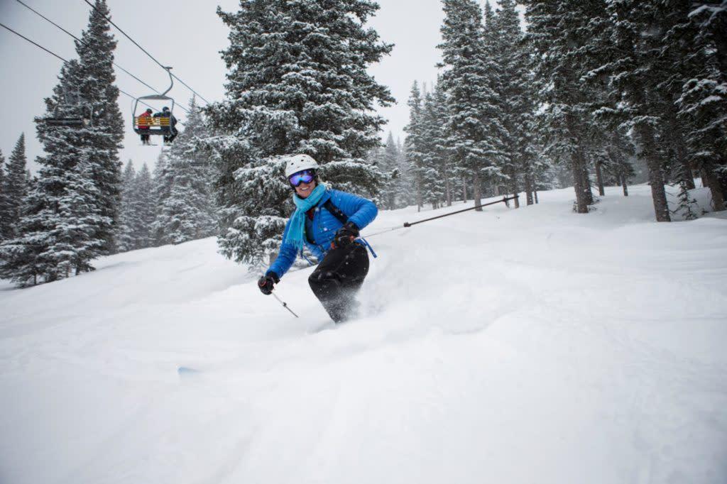 Hit the slopes this February at Ski Santa Fe! (Photo courtesy of Ski Santa Fe)