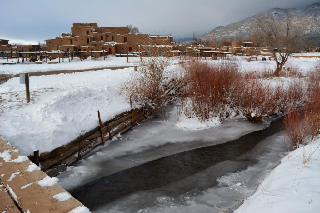 Red Willow Creek in Winter
