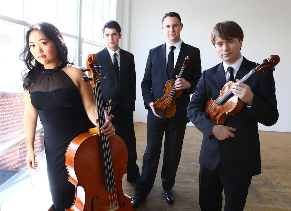 Photo courtesy of Calidore String Quartet