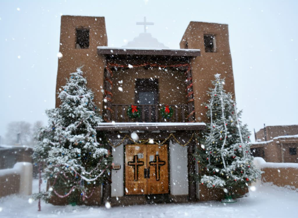 San Geronimo de Taos Mission Church