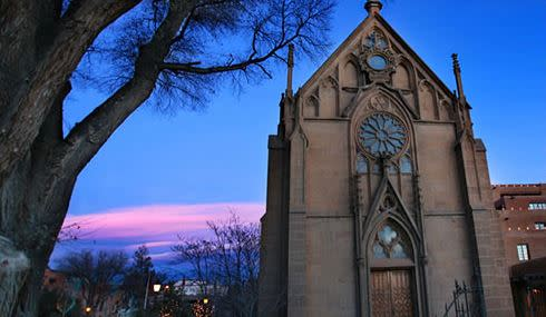 Visit Loretto Chapel and find out more about the revered miraculous staircase. (Photo courtesy of Loretto Chapel)