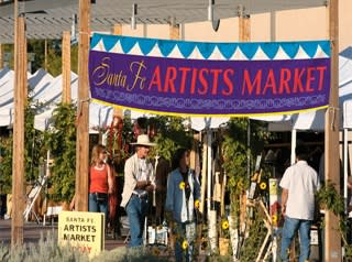 You'll find an array of great art at the Santa Fe Artists Market (Photo courtesy of the Santa Fe Artists Market)