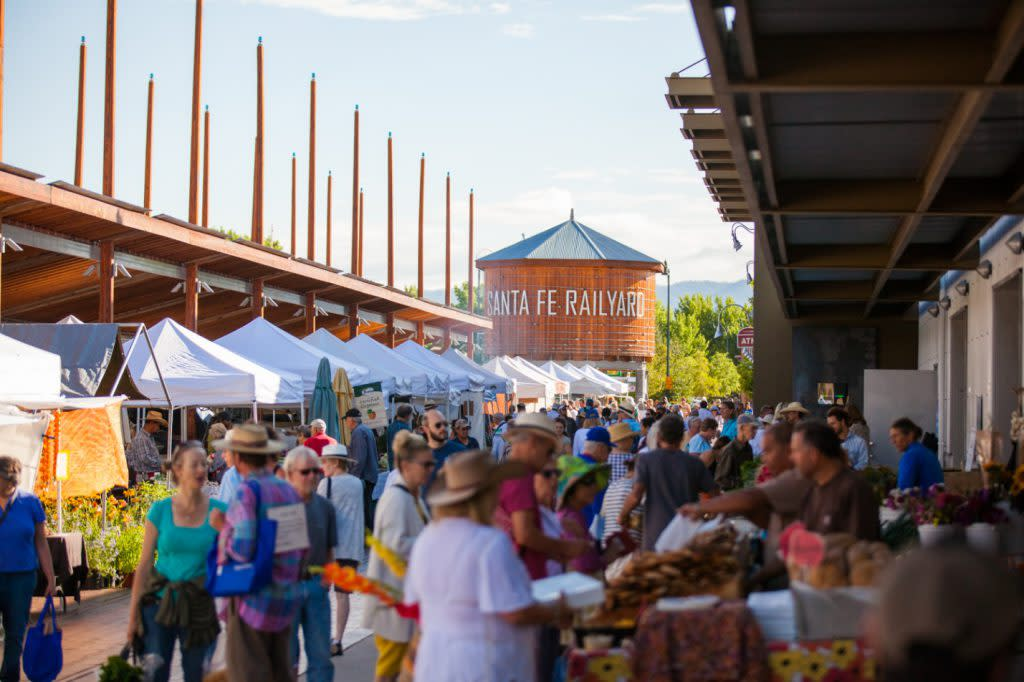 The Farmers Market has been keeping it fresh since 1968. (Photo courtesy of TOURISM Santa Fe)