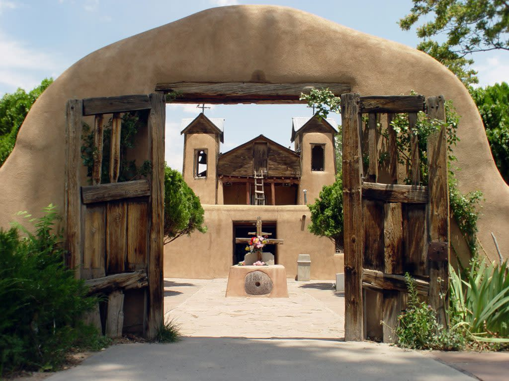 The journey to the Santuario de Chimayó is one of the most important pilgrimages in the world. (Photo courtesy of Santa Fe County)