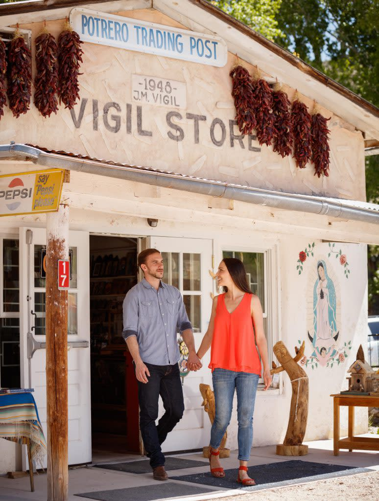 The El Potrero Trading Post is a family-owned business in the valley of Chimayó. (Photo courtesy of Santa Fe County)