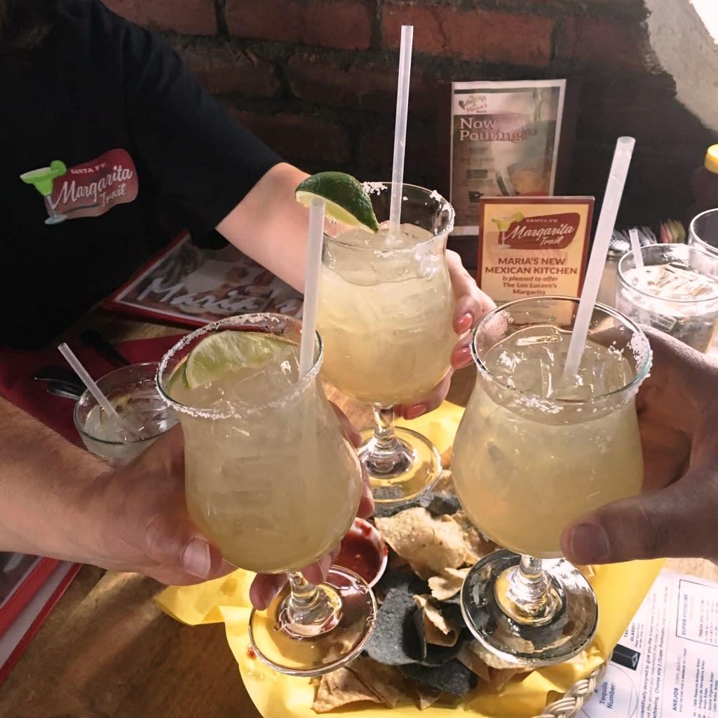 Cheers to the Santa Fe Margarita Trail! The trail celebrates one year on Cinco de Mayo! (Photo courtesy of TOURISM Santa Fe)