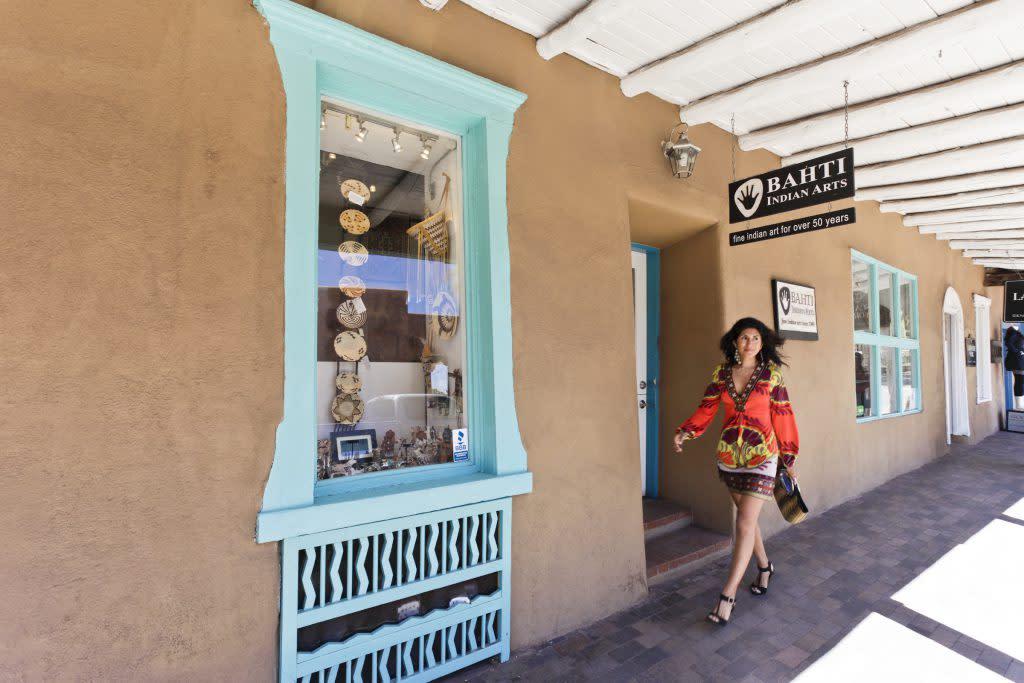 You'll lose track of time exploring the shops at Sena Plaza! (Photo courtesy of TOURISM Santa Fe)