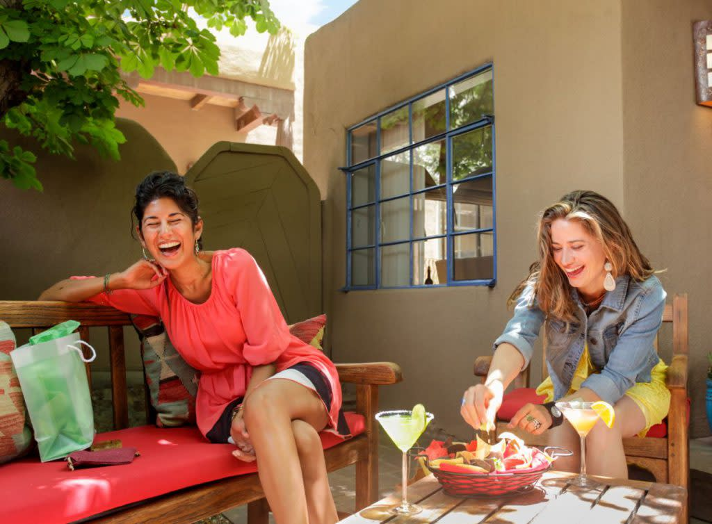 Laughter and libation rule on your Santa Fe Margarita Trail excursion! (Photo courtesy of TOURISM Santa Fe)