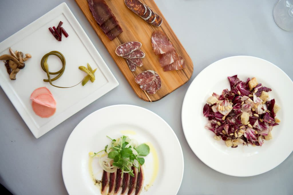 Farm inspired, locally-sourced cuisine awaits your bevy! (Photo courtesy of Radish and Rye)