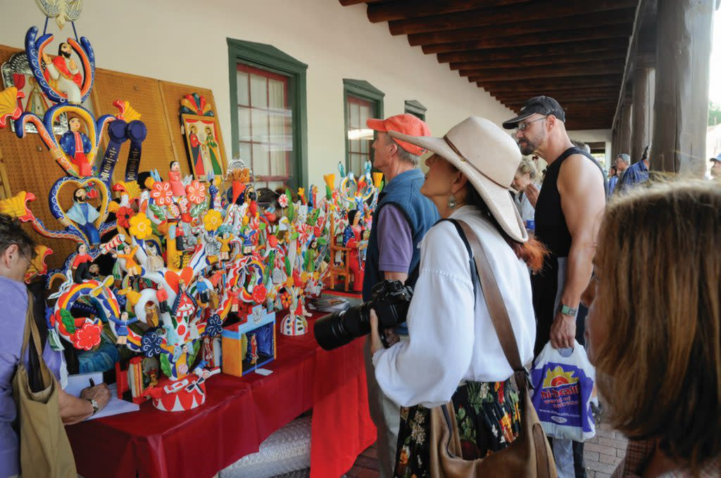 Spanish Market takes place each July