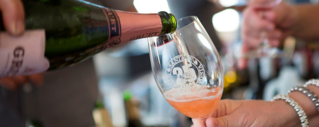 75 restaurants and 100 wineries will be on hand at the Santa Fe Wine and Chile Fiesta.