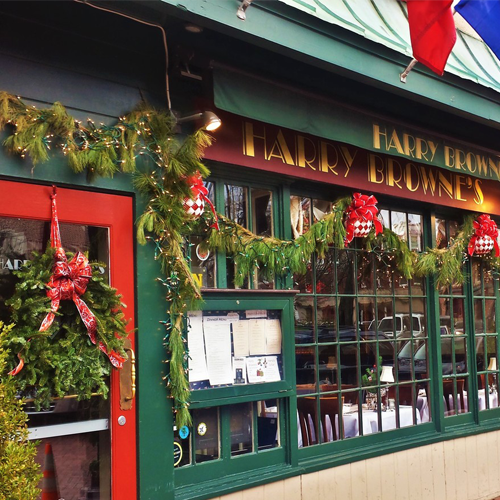 Harry Browne's Restaurant in Annapolis