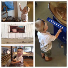 Having fun at the Annapolis Maritime Museum courtesy of Alexandra Cannady