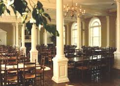 Interior of St. John's McDowell Coffee Shop courtesy of St. John's College