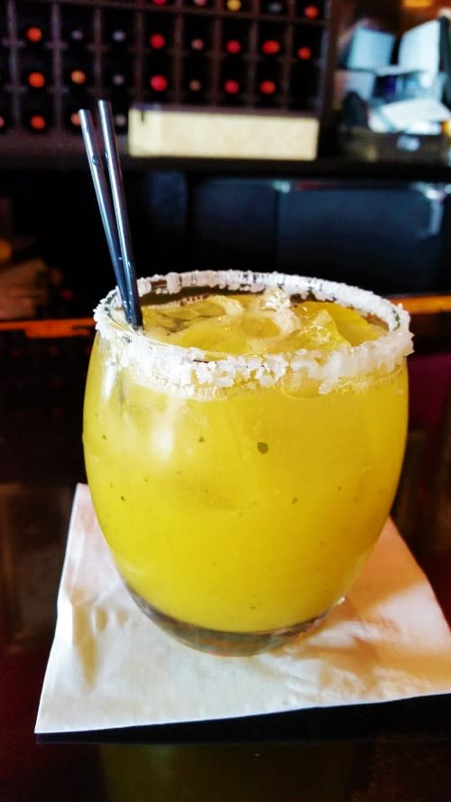 Mango Margaritta, a refreshing and delicious happy hour special