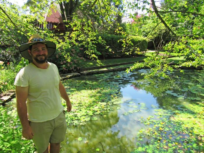 Paca House Gardener Ben Cornwell