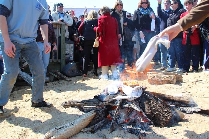Oyster Roast & Sock Burning