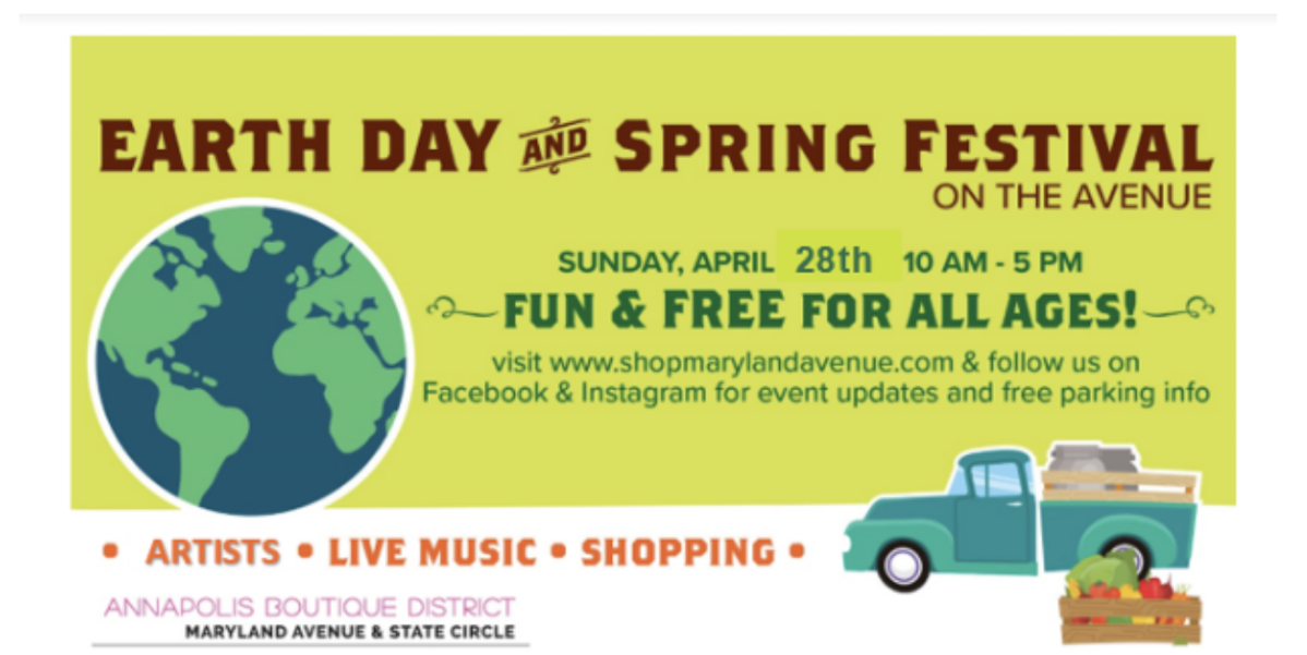 Earth Day on MD Avenue
