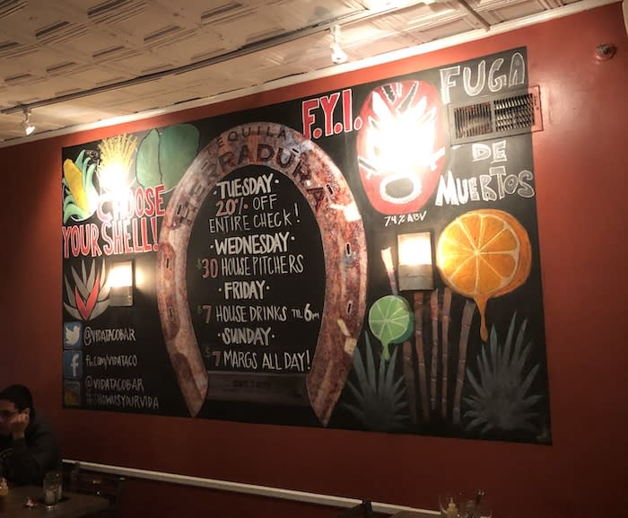 Vida Taco Bar: Not Your Average Taqueria