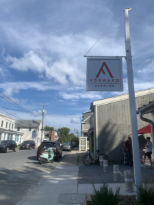 view of forward brewing in annapolis maryland from the street