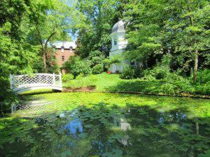 Paca House pond