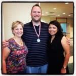 Clancy's Tourism Industry mentors: Kim Phillips of the Denton CVB and Rebecca Ybarra Ramirez of the San Marcus CVB