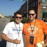 Gary Hurt of Best of the Road team tagged teamed with Hardin during the  campaign.