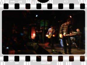 Trebuchet gave a special performance at Dan's Silverleaf during Thin Line Film Festival