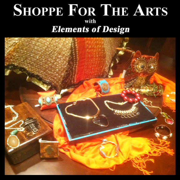 Shoppe For the Arts, Elements of Design, Greater Denton Arts Council. GDAC, fundraiser