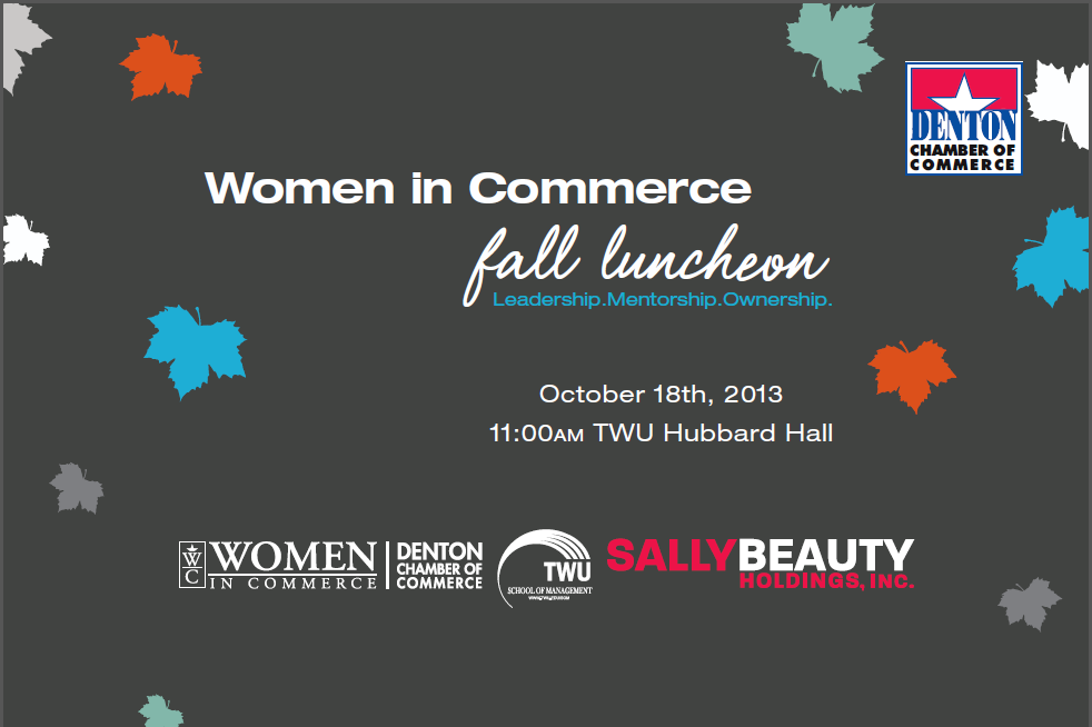 Denton Women in Commerce Fall Luncheon