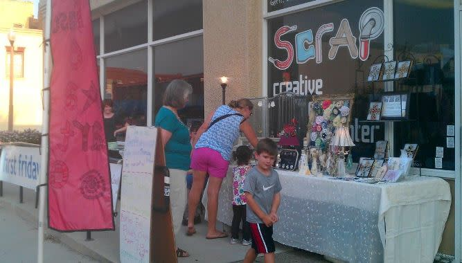 SCRAP Denton, crafting, creative reuse