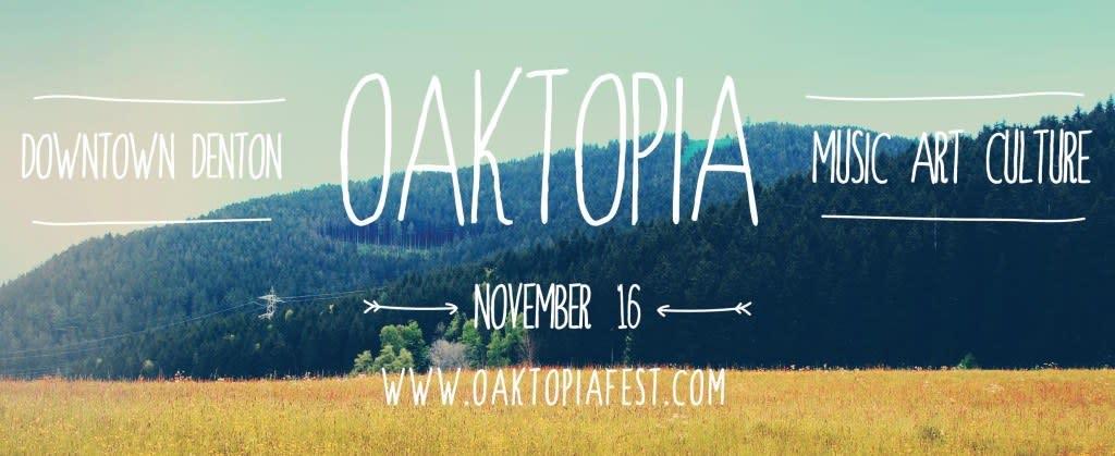 Oaktopia, music festival, Denton