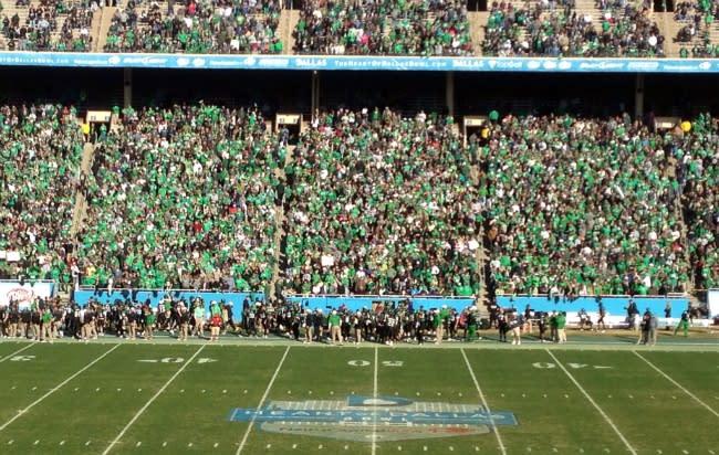 Heart of Dallas Bowl, UNT, Mean Green