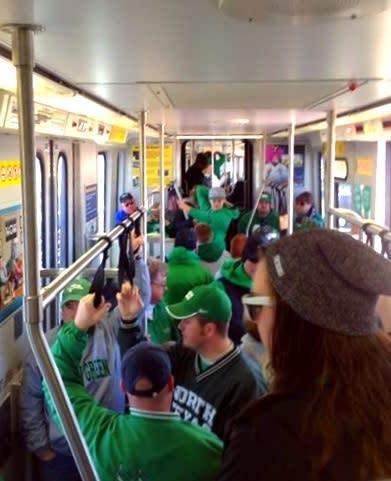 DCTA A-train, Heart of Dallas Bowl Game Day