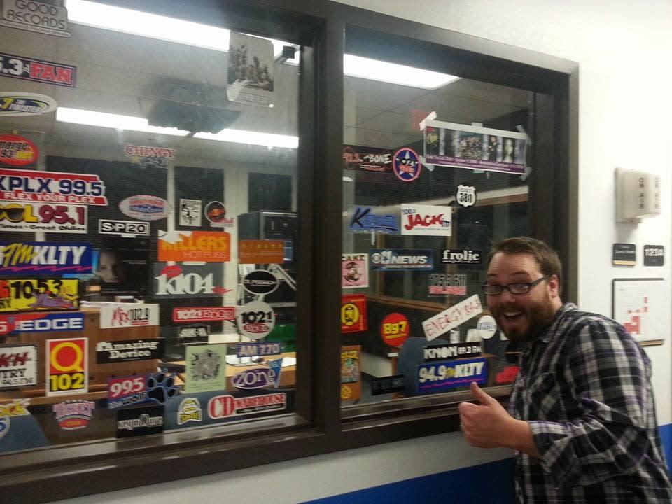 Steve at the Radio