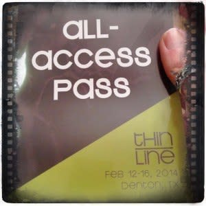 Here's my pass!