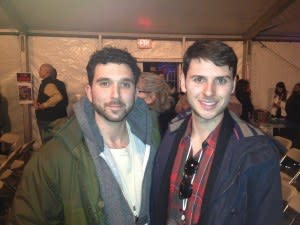 Ben Mallin, Producer and Justin Turcotte, Director, both from Vancouver, Canada.