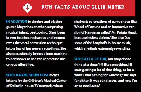 Ellie Meyer, DentonRadio.com, local musician, singer-songwriter