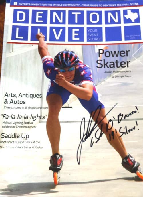Denton Live autograph