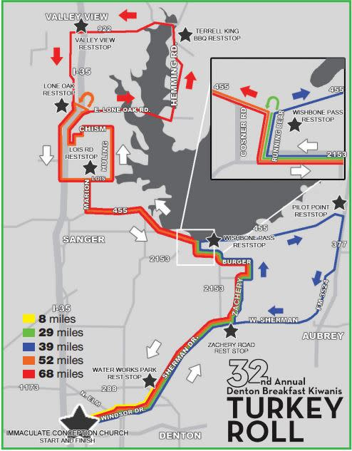 Course Map from Website