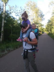 Hiking with Kids in Laramie Area