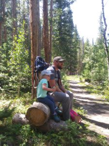 Wyoming hikes for families and begginers Corner Mountain Hike