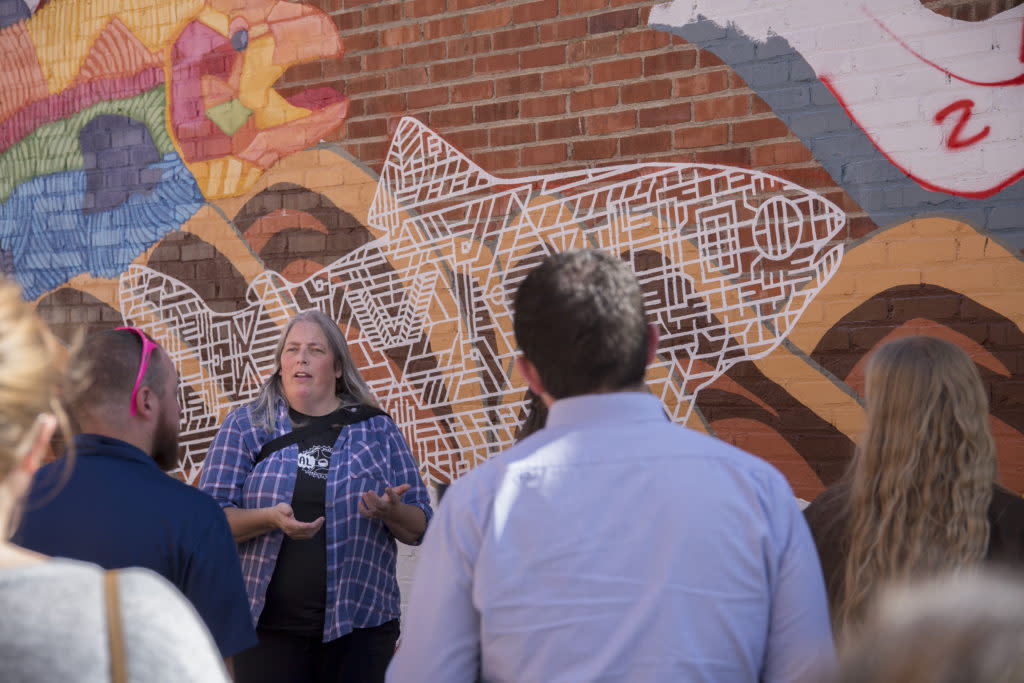 Take the Downtown Laramie Mural Tour one of the best places to learn about local art