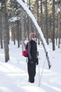 Laramie RT Tie-City nordic skiing recreation