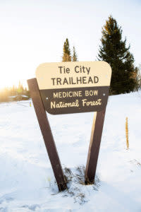 Tie City Trailhead Medicine Bow National Forest